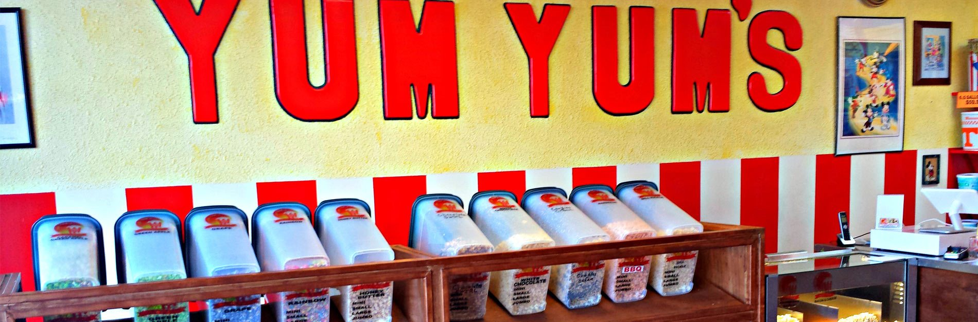 Yum Yum's Gourmet Popcorn