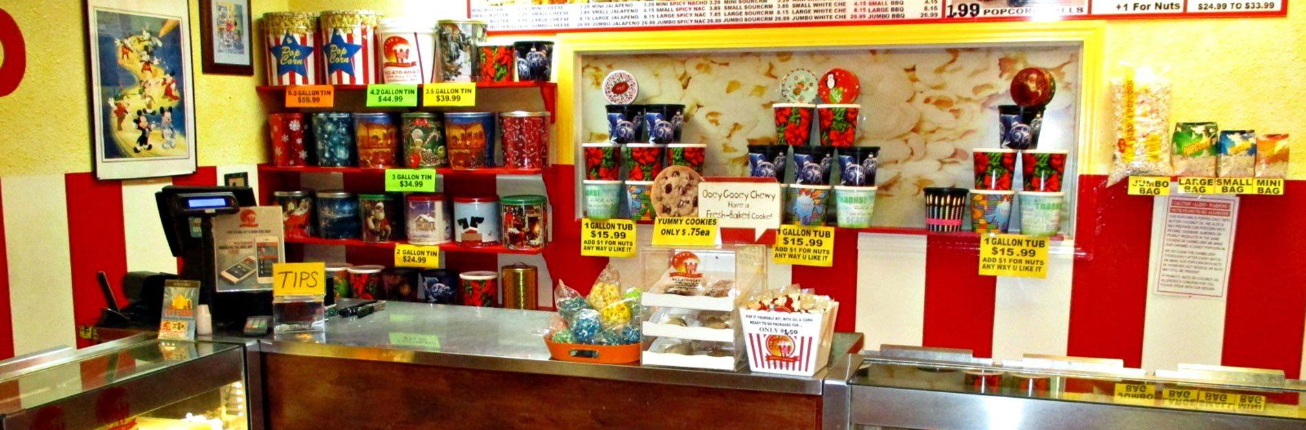 Popcorn Shop Southaven