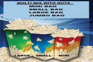 Yum Yums Bag sizes WITH NUTS 1