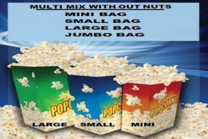 Yum Yums Bag sizes WITH NUTS 2