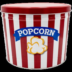 Blue Ribbon Popcorn 2 gallon Tin
